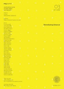 Book Cover: IMG Remediating distances